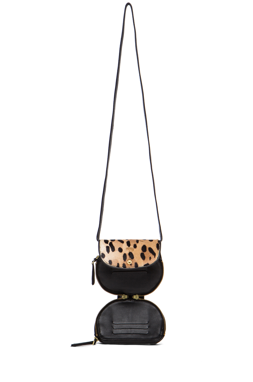 Jerome Dreyfuss | Momo Mini Messenger Bag in Leopard