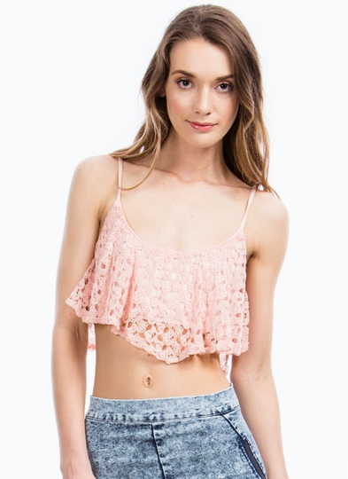 Get-Ruffled-Up-Crochet-Cropped-Top BLUSH SAGE - GoJane.com
