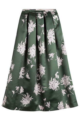 skirt midi skirt midi satin multicolor