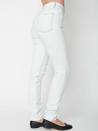 Light Wash High-Waist Jean | American Apparel