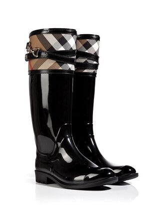 burberry winter boots wellies