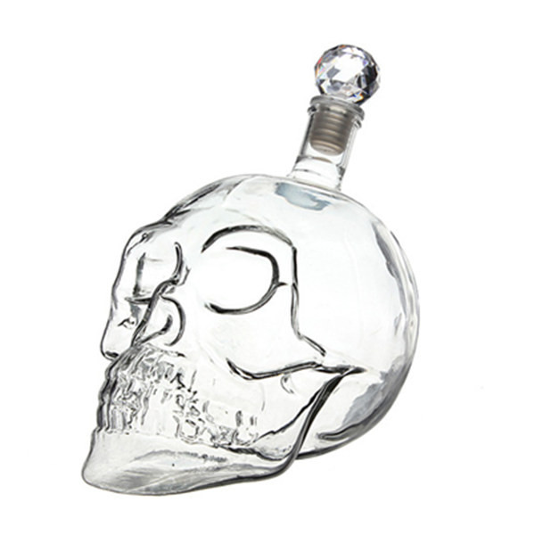 Skullie vodka bottle