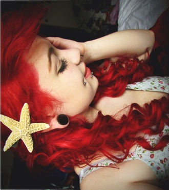 jewels starfish ariel mermaid