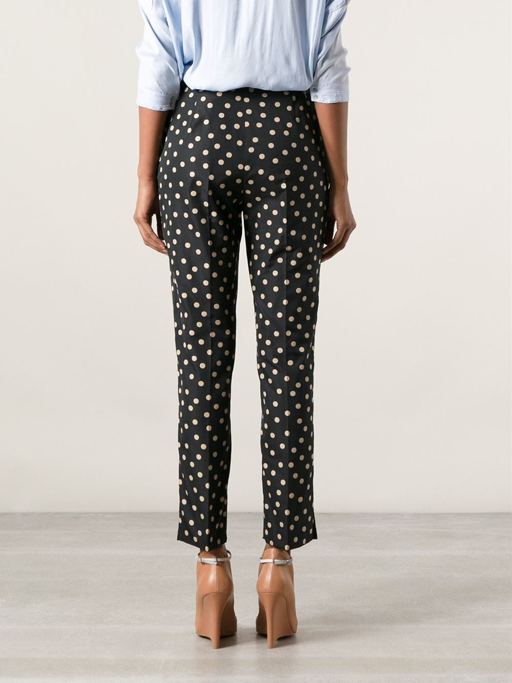 Paule Ka Polka Dot Trousers - Babylon Bus Women - Farfetch.com