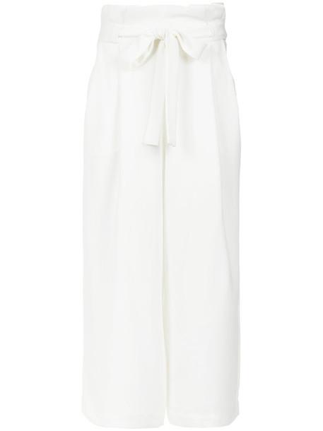 high women white pants
