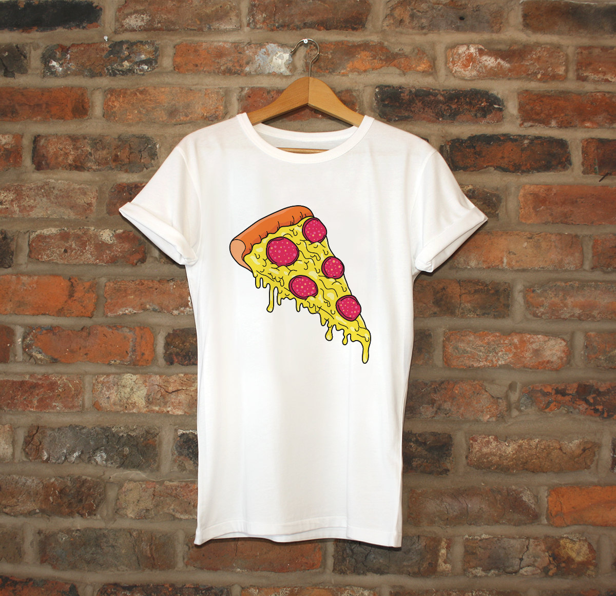 pizza t shirt pizza slice tshirt cool t shirt womens. Black Bedroom Furniture Sets. Home Design Ideas