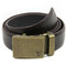 Bronze | 40mm no holes adjustable ratchet belt | mission belt co