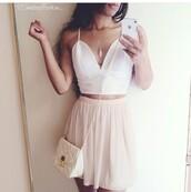 skirt,pink,summer,tutu,tumblr