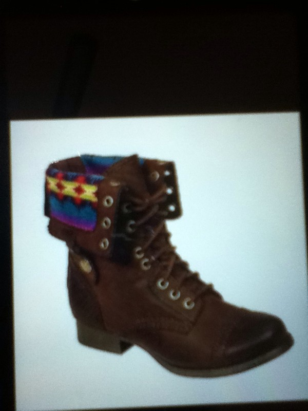 shoes combat boots boots tribal pattern brown combat boots brown