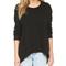 Wilt basic big sweatshirt - black