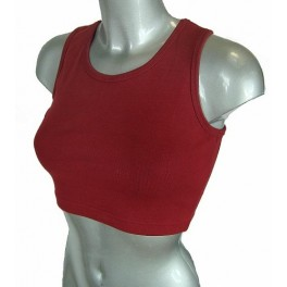 Red Crop Top - LEC Boutique