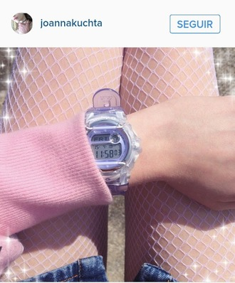 clock joanna kuchta cute kawaii grunge soft grunge pastel grunge pastel watch kawaii accessory