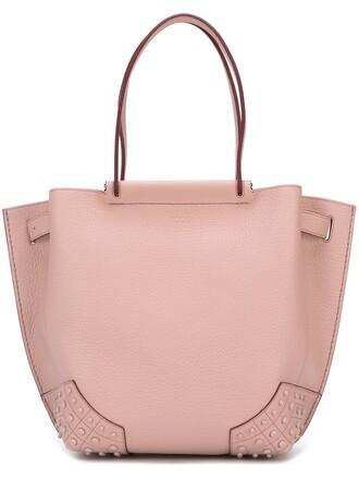studded bag shoulder bag purple pink