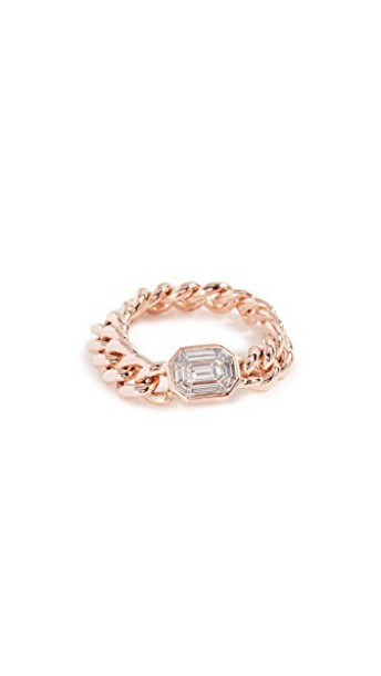 ring gold rose gold rose jewels