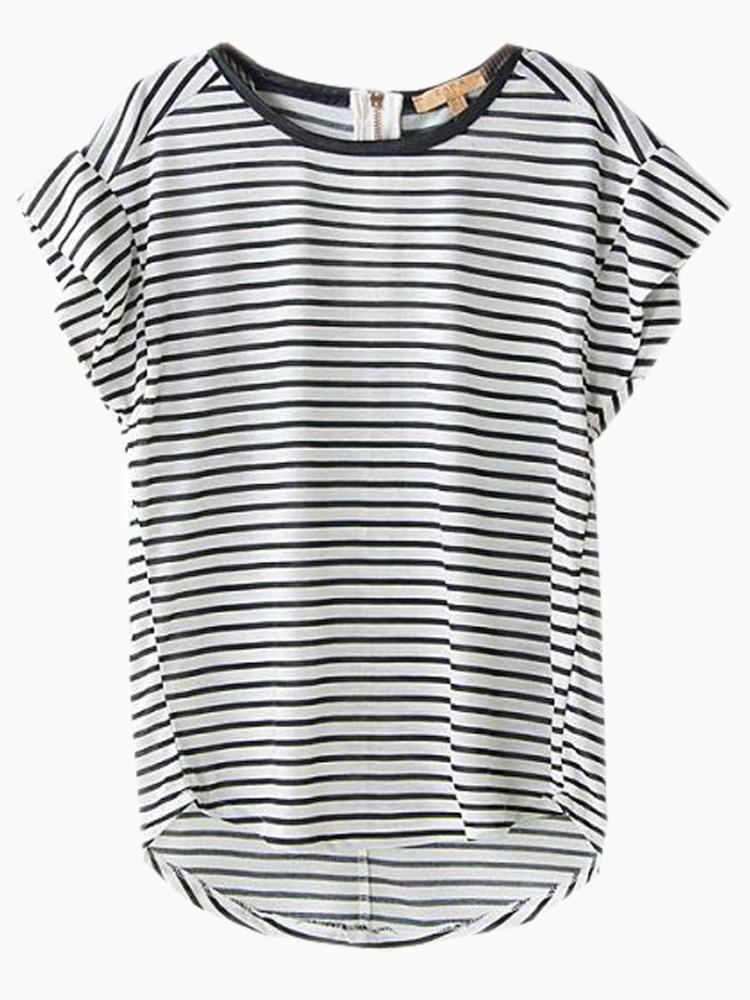Loose Stripe T-shirt | Choies