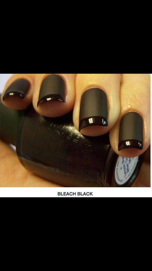 nail polish black matte nail polish