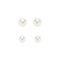 Pearl set of studs buy dresses, tops, pants, denim, handbags, shoes and accessories online buy dresses, tops, pants, denim, handbags, shoes and accessories online