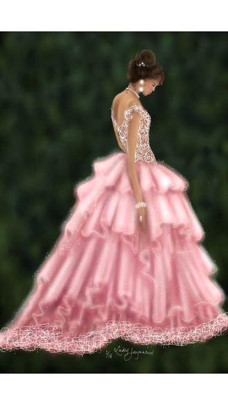 dress ik it's a drawing but there's a dress like this somewhere!
