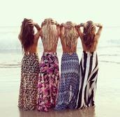 skirt,maxi skirt,leopard print,stripes,blue,brown dress,pink,black,white,zig zag print