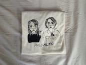 t-shirt,palo alto,grunge,girl,drawing,pale,pastel,cool,shirt,tumblr