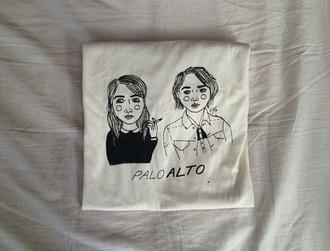 t-shirt palo alto grunge girls drawing pale pastel cool