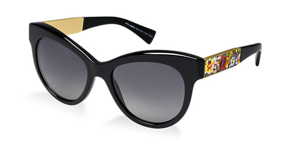 Dolce & Gabbana Polarized DG4215 53 Sunglasses | Sunglass Hut