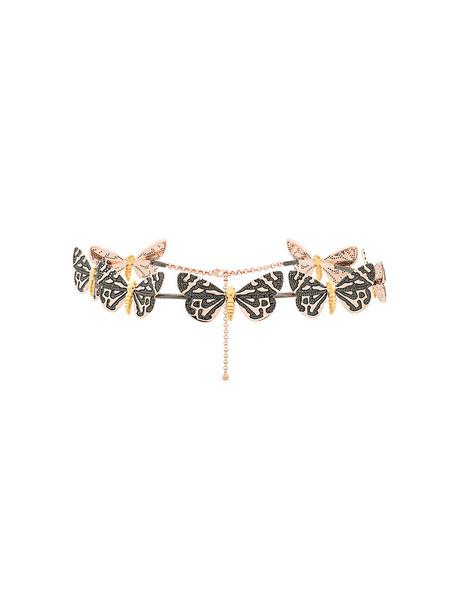 Astley Clarke women tiger gold black grey metallic jewels