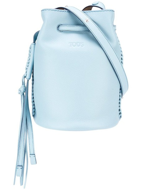 tassel women bag crossbody bag blue
