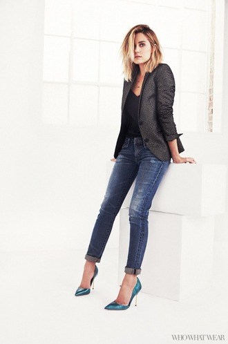 jacket jeans denim lauren conrad shoes top