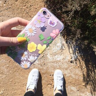 phone cover yeah bunny flowers floral summer girly plants iphone cover