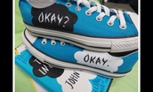 shoes,the fault in our stars,sneakers,john green,book