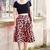 Leopard Skirt - Elodie in Paris