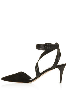 JASMIN Asymmetric Kitten Heels - Topshop