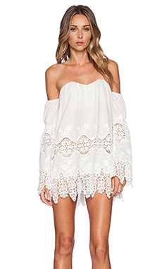STONE_COLD_FOX x REVOLVE Marrakech Dress in White Georgia Lace from REVOLVEclothing.com