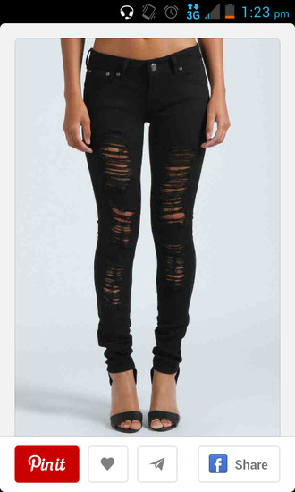 jeans black jeans ripped jeans black pants skinny jeans