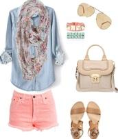 blouse,top,denim