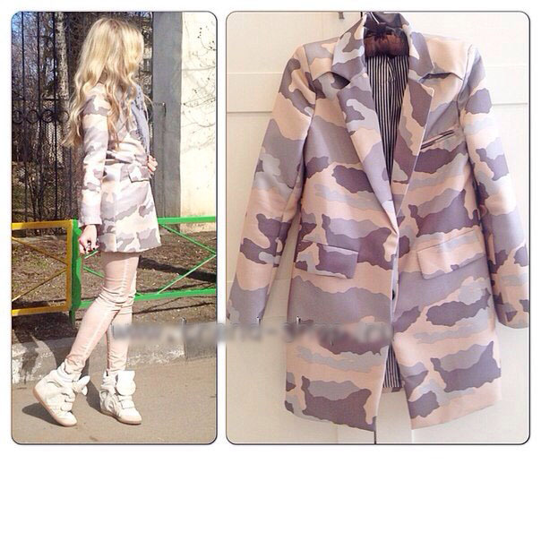 2014 spring new Han edition suits paragraph cultivate one's morality grows in leisure coat camouflage suit-in Blazers from Apparel & Accessories on Aliexpress.com | Alibaba Group