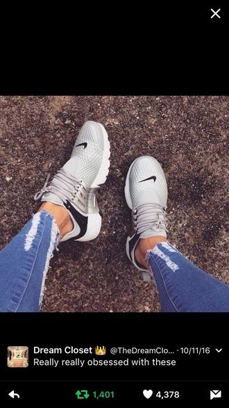 shoes silver grey nike nike shoes nike running shoes nike sneakers
