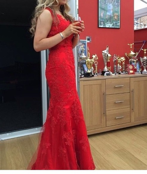 prom dress prom red dress red prom dress prom dresses 2014 amazing tight dress