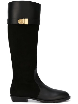 high knee high boots knee high boots black shoes