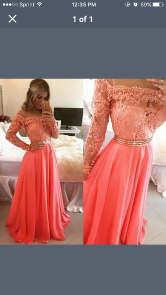dress pink dress lace dress gold belt