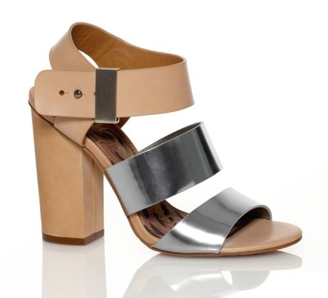 Chunky Sandals Heels