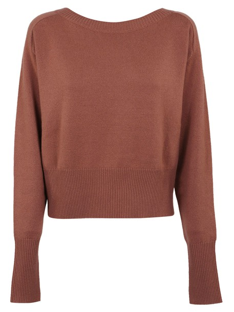 theory jumper rose sweater