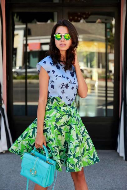 viva luxury blogger bag sunglasses