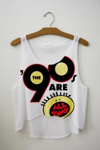 t-shirt 90s style tv show