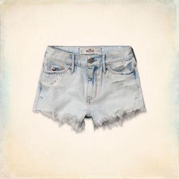 Hollister High Rise Short-Shorts on Wanelo