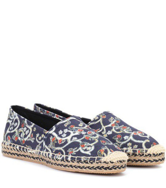 Isabel Marant espadrilles blue shoes