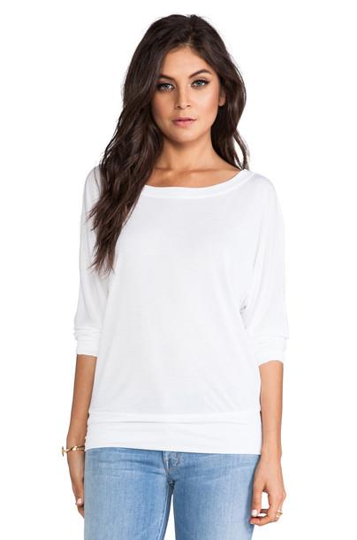 Lanston sweatshirt boyfriend white