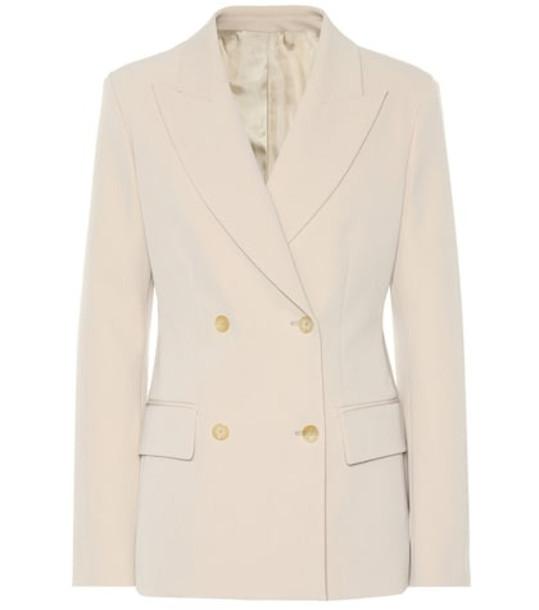 Joseph Wool-blend blazer in beige / beige