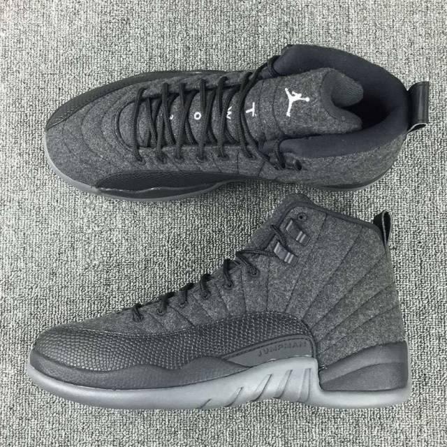 newest 8bb3c 58225 Nike Air Jordan Retro 12 XII Wool 852627-003 PREORDER 4Y-13
